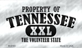Property Of Tennessee Wholesale Novelty Metal Magnet