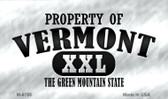 Property Of Vermont Wholesale Novelty Metal Magnet