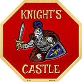 Knights Castle Wholesale Metal Novelty Stop Sign