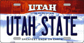 Utah State Utah Background Wholesale Metal Novelty License Plate