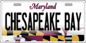 Chesapeake Bay Maryland Background Wholesale Metal Novelty License Plate