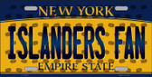 Islanders Fan New York Background Novelty Wholesale Metal License Plate
