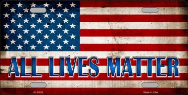All Lives Matter Wholesale Metal Novelty License Plate