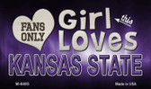 This Girl Loves Her Kansas State Wholesale Novelty Metal Magnet