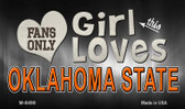 This Girl Loves Her Oklahoma State Wholesale Novelty Metal Magnet