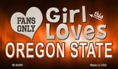 This Girl Loves Her Oregon State Wholesale Novelty Metal Magnet