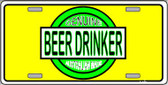 Beer Wholesale Metal Novelty License Plate