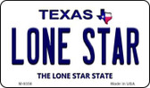 Lone Star Texas Background Wholesale Novelty Metal Magnet M-9356