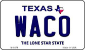 Waco Texas Background Wholesale Novelty Metal Magnet