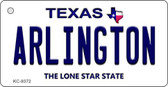 Arlington Texas Background Wholesale Novelty Key Chain