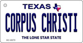 Corpus Christi Texas Background Wholesale Novelty Key Chain
