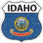 Idaho State Flag Highway Shield Novelty Metal Magnet