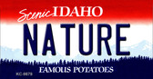 Nature Idaho State Background Wholesale Metal Novelty Key Chain