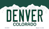 Denver Colorado Background Wholesale Metal Novelty Magnet
