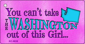 Washington Girl Novelty Wholesale Metal Key Chain