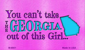Georgia Girl Novelty Wholesale Metal Magnet
