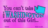 Washington Girl Novelty Wholesale Metal Magnet