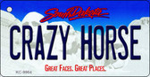 Crazy Horse South Dakota Background Metal Novelty Wholesale Key Chain