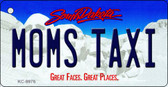 Moms Taxi South Dakota Background Wholesale Metal Novelty Key Chain KC-9976