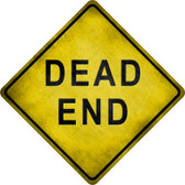 Dead End Novelty Metal Crossing Sign Wholesale