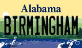 Birmingham Alabama State Background Magnet Novelty Wholesale