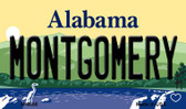 Montgomery Alabama State Background Magnet Novelty Wholesale