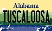 Tuscaloosa Alabama State Background Magnet Novelty Wholesale