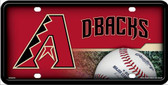 Arizona Diamondbacks License Plate Metal Novelty Wholesale LP-655