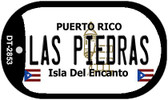 Las Piedras Puerto Rico Flag Dog Tag Kit Wholesale Metal Novelty Necklace