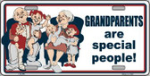 Grandparents Are Special People Wholesale Metal Novelty License Plate LP-275