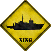 Destroyer Xing Wholesale Novelty Metal Crossing Sign CX-180