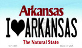 I Love Arkansas Arkansas State Background Magnet Novelty Wholesale