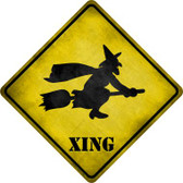 Simple Witch Xing Novelty Metal Crossing Sign Wholesale