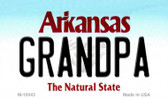Grandpa Arkansas State License Plate Magnet Novelty Wholesale M-10043