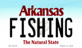 Fishing Arkansas State License Plate Magnet Novelty Wholesale M-10049