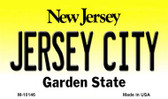 Jersey City New Jersey State License Plate Wholesale Magnet