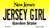 Jersey Girl New Jersey State License Plate Wholesale Magnet