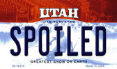 Spoiled Utah State License Plate Wholesale Magnet