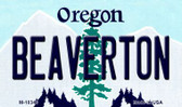 Beaverton Oregon State License Plate Wholesale Magnet