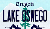 Lake Oswego Oregon State License Plate Wholesale Magnet