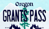 Grants Pass Oregon State License Plate Wholesale Magnet