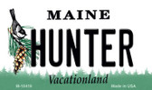 Hunter Maine State License Plate Wholesale Magnet