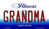 Grandma Illinois State License Plate Wholesale Magnet
