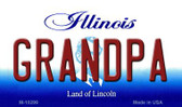Grandpa Illinois State License Plate Wholesale Magnet