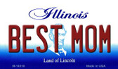 Best Mom Illinois State License Plate Wholesale Magnet