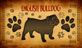 English Bulldog Wholesale Magnet