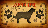 Golden Retriever Wholesale Magnet