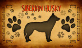 Siberian Huskey Wholesale Magnet