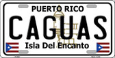 Caguas Wholesale Metal Novelty License Plate LP-2822