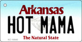 Hot Mama Arkansas State License Plate Wholesale Key Chain KC-10045